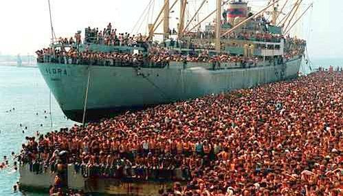 Fotot e rralla Të mos harrojmë historinë e anijes Vlora 6