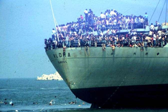 Fotot e rralla Të mos harrojmë historinë e anijes Vlora00