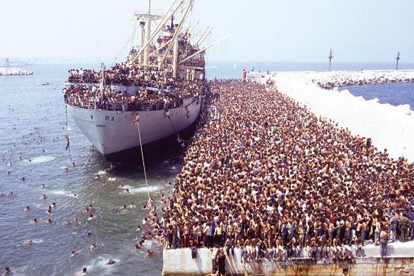 Fotot e rralla Të mos harrojmë historinë e anijes Vlora 4