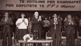 Ramiz Aliaj Shpallja e demokracise