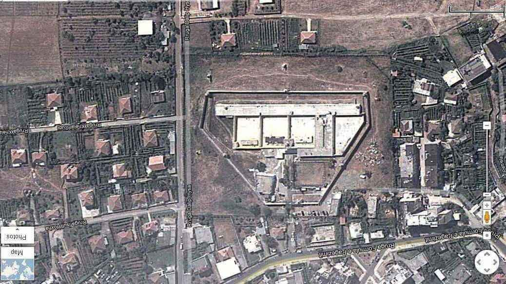 Burgu i Burrelit nga lart