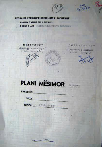 Plani mësimor i Sigurimit