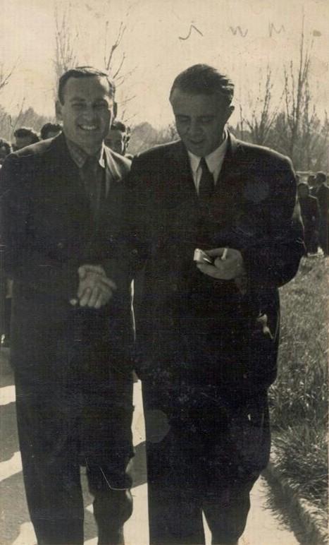Beqir Xhepa me Enver Hoxhën