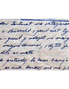 Letra e shkruar nga Dom Simon Jubani për Komitetin Qendror