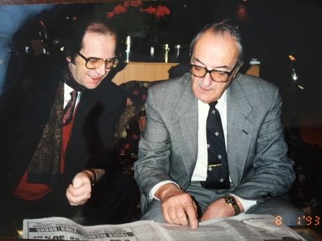 Sami Repishti, Ibrahim Rugova