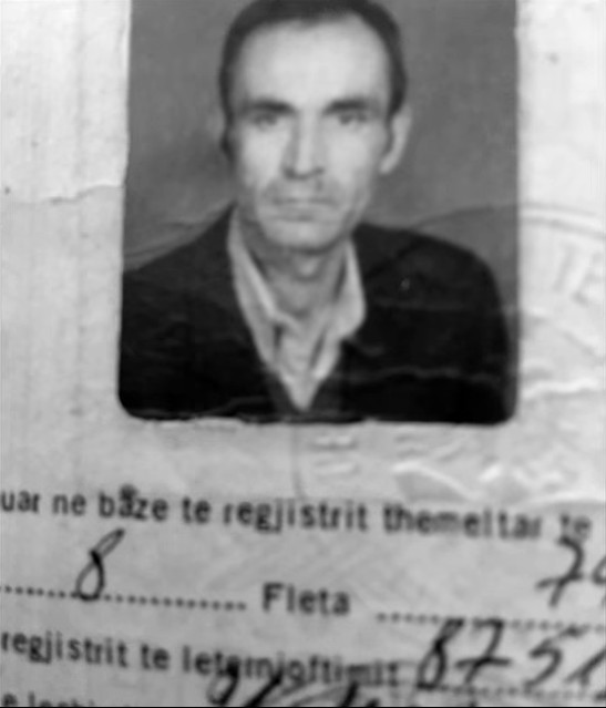 Lekë Mirakaj, kartela e lirimit nga burgu