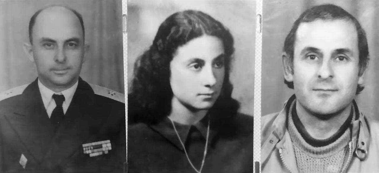 Teme Sejko, bashkëshortja dhe djali i tij