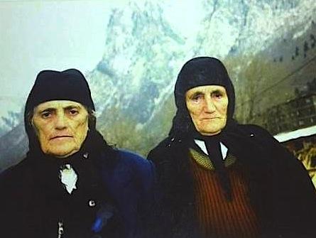 Gjelë Gjikola dhe Mrikë Gjikola © Radi and Radi