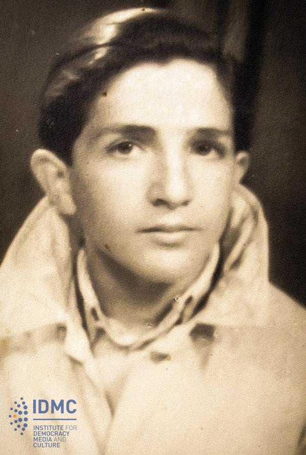 Xhelal Koprencka, adoleshent