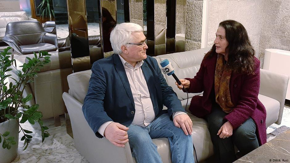 Ulrich Bongertmann, kryetar i shoqatës gjermane të mësuesve të historisë